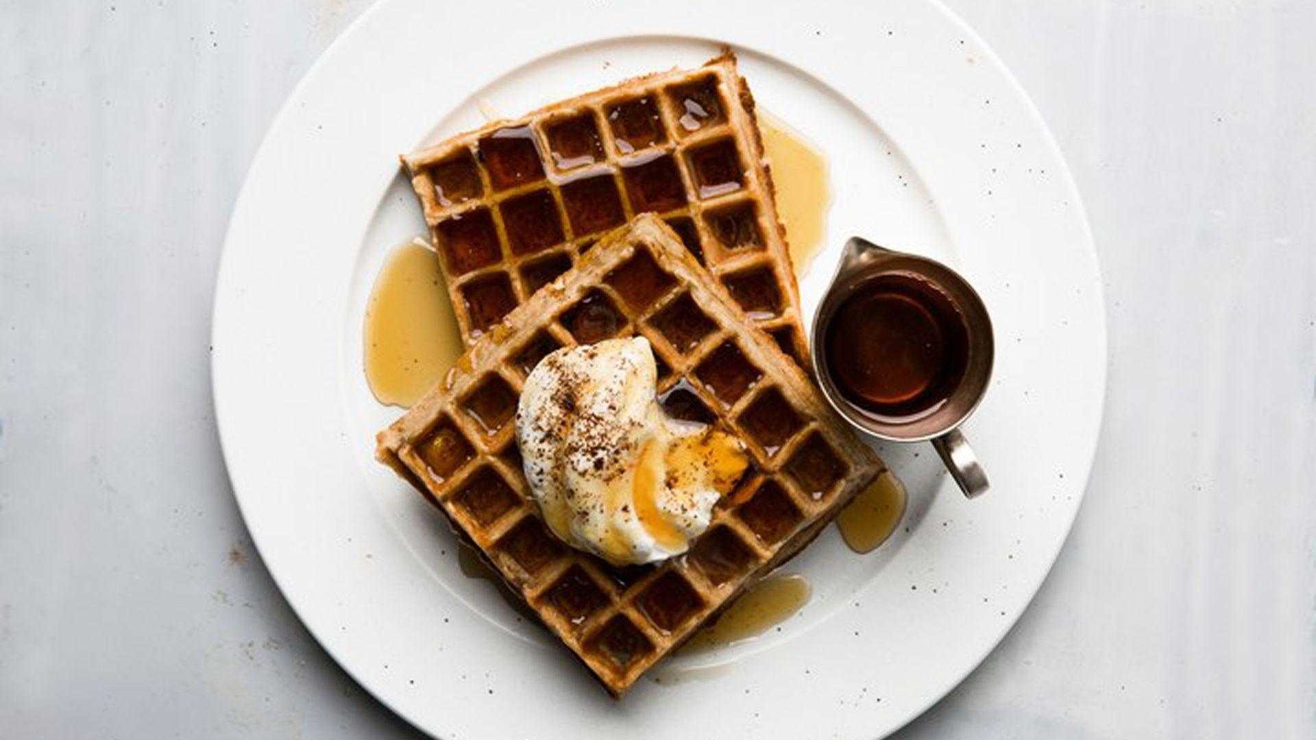 How To Whip Up Coffee-Flavored Belgian Waffles With Kick