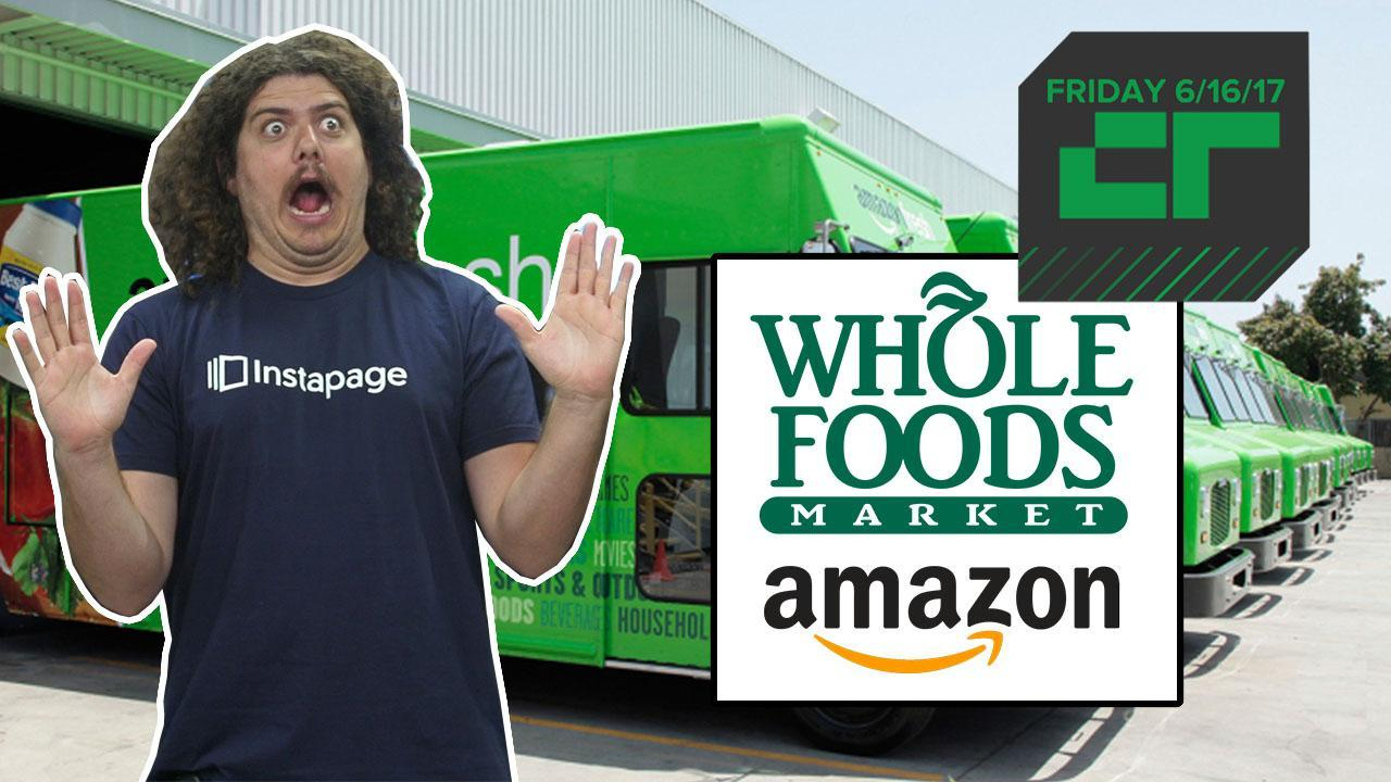 Crunch Report | Amazon Bids to Buy Whole Foods for $13.7 Billion 594464f0e6604d19be0a89bd o U v1