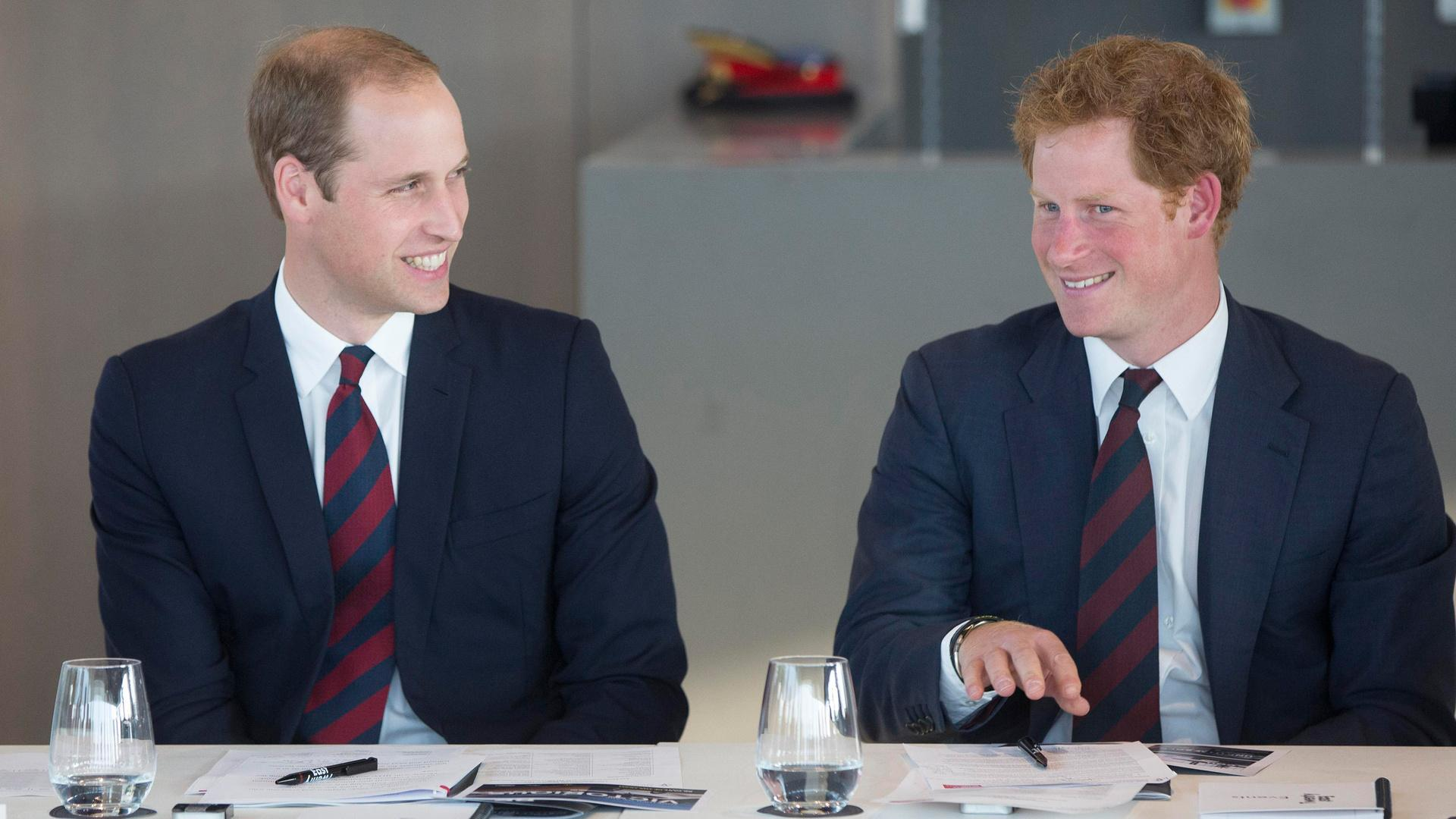 Prince Harry & Prince WIlliam's Cutest Brother Moments