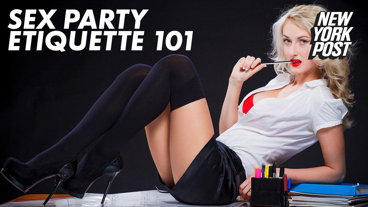 Don't be the one to break up an orgy, and other sex party tips