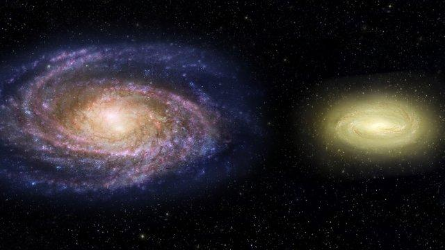 NASA Finds Dead Spiral Galaxy, Re-thinks Space Evolution