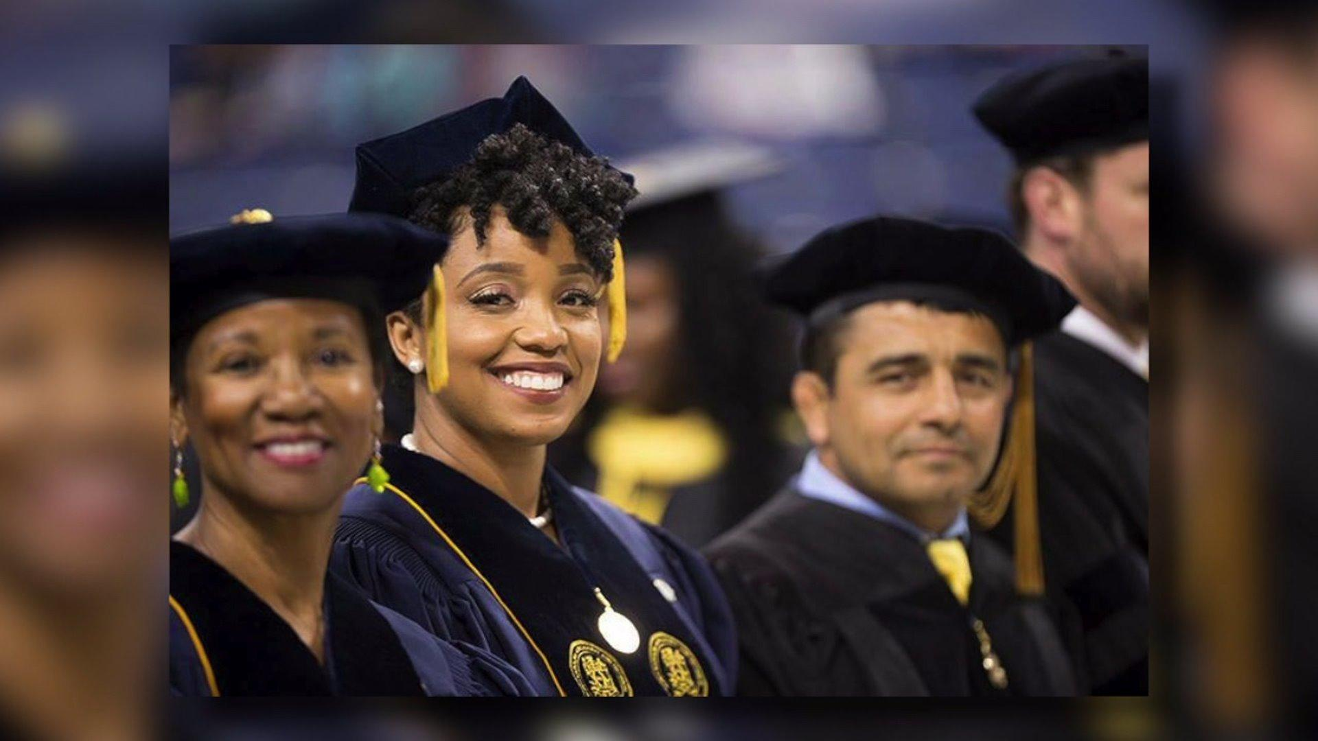 Single Mom Earns PhD While Raising Four Girls