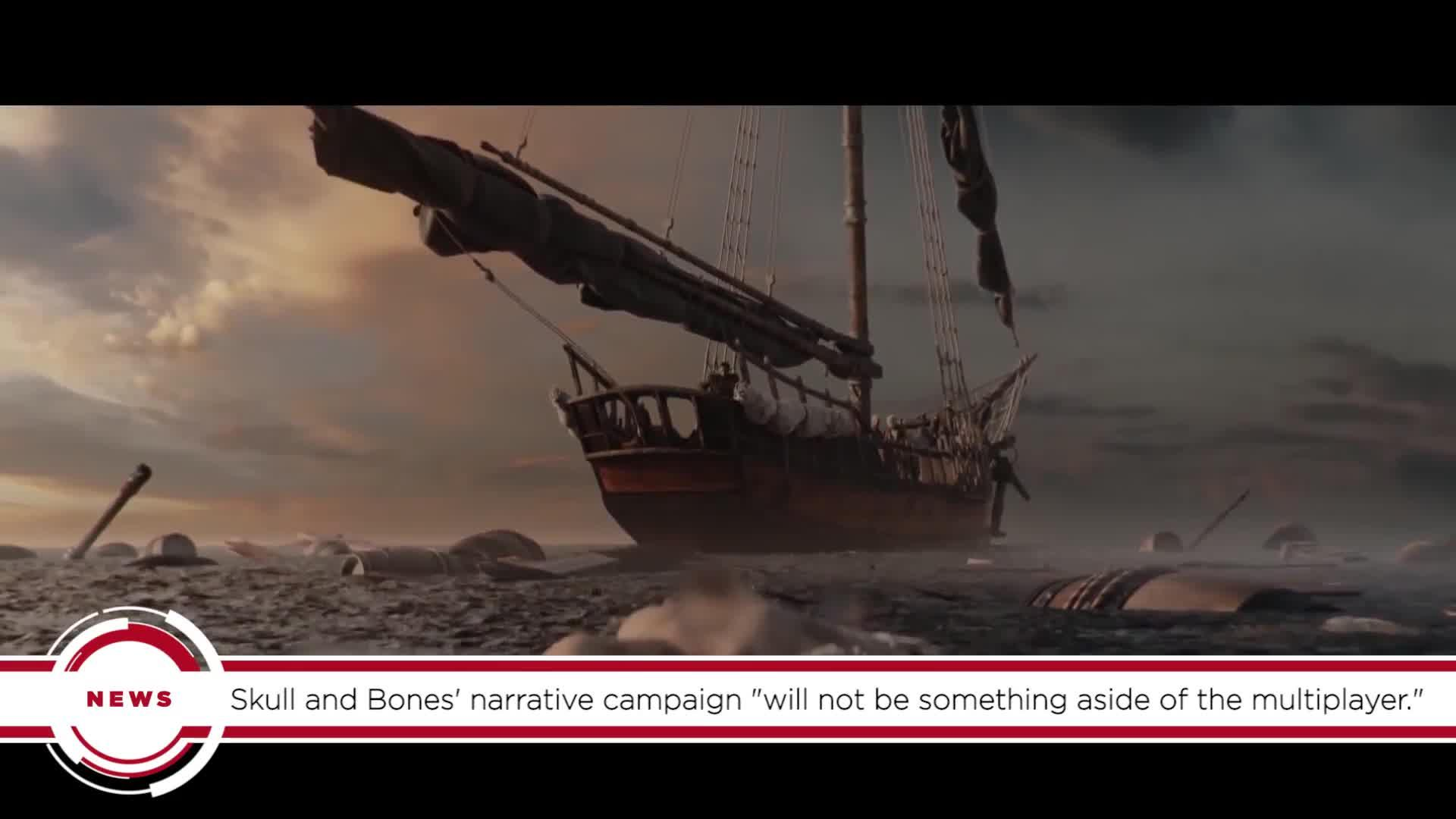 GS News Update: Pirate Ship Game Skull And Bones Will Have Narrative Campaign, Ubisoft Confirms
