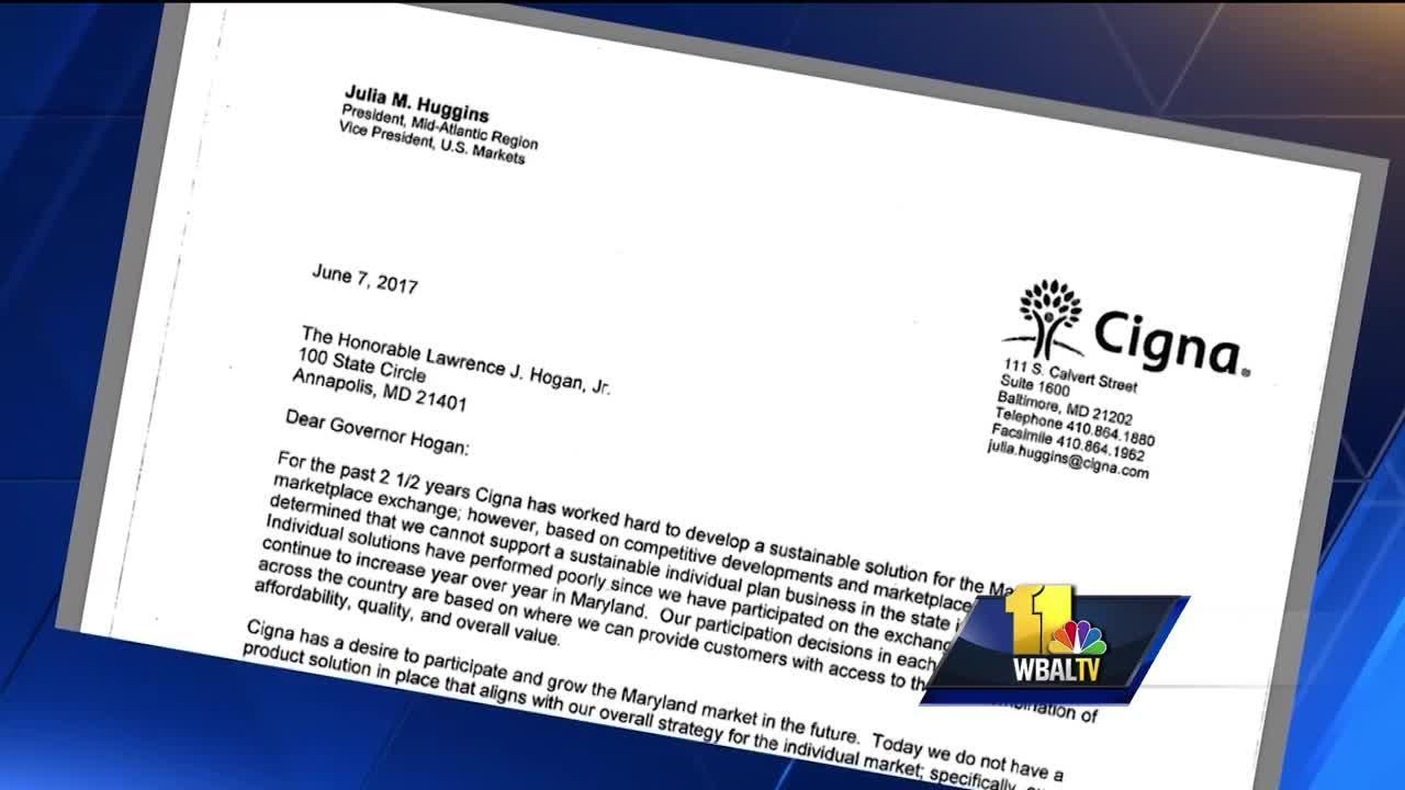 Video: Cigna says goodbye to Maryland health exchange