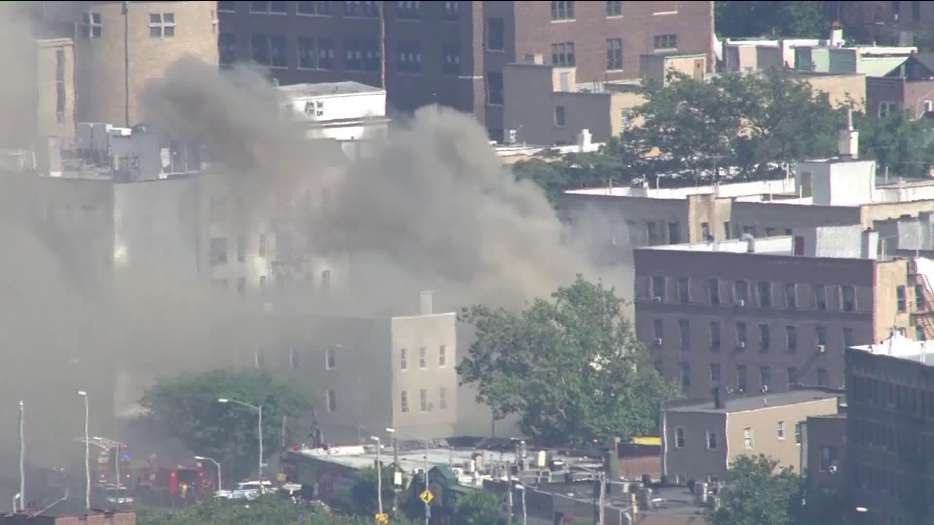 Multiple Firefighters, 1 Civilian Injured in 4-Alarm New York City Blaze