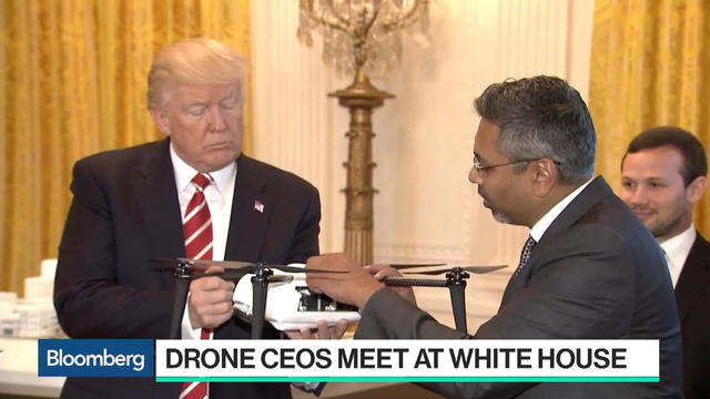Kespry CEO Says Trump Was Receptive to Drone Tech