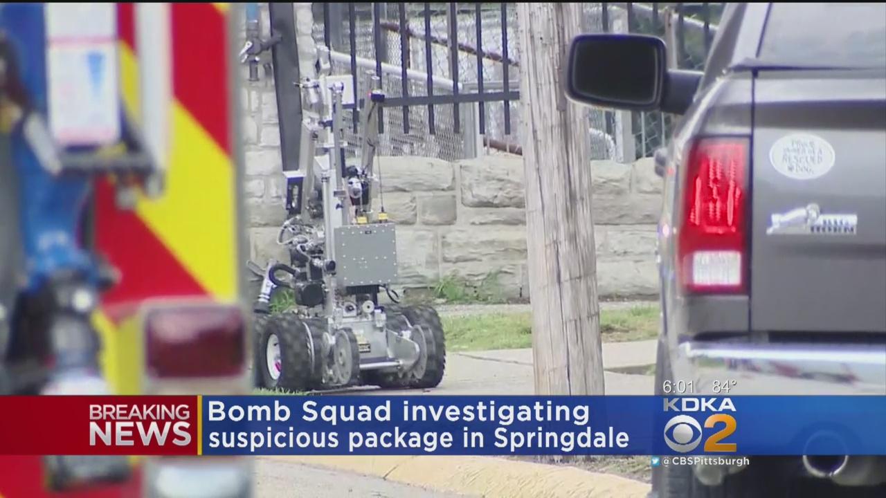 Bomb Squad Detonates Suspicious Package In Springdale
