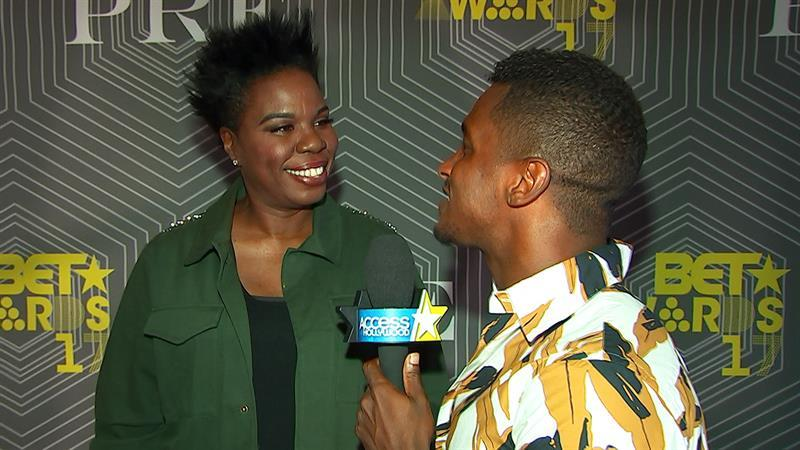 BET Awards Preview: Leslie Jones Teases First-Time Hosting Duties