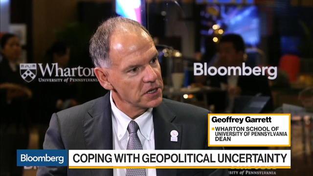 Wharton Schools' Garrett Says China Is Rival to U.S.