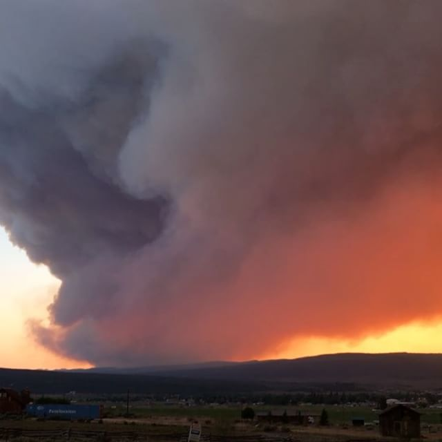 Brian Head Fire Grows, Burns Near Panguitch