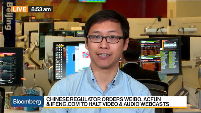 China Clamps Down on Webcasts