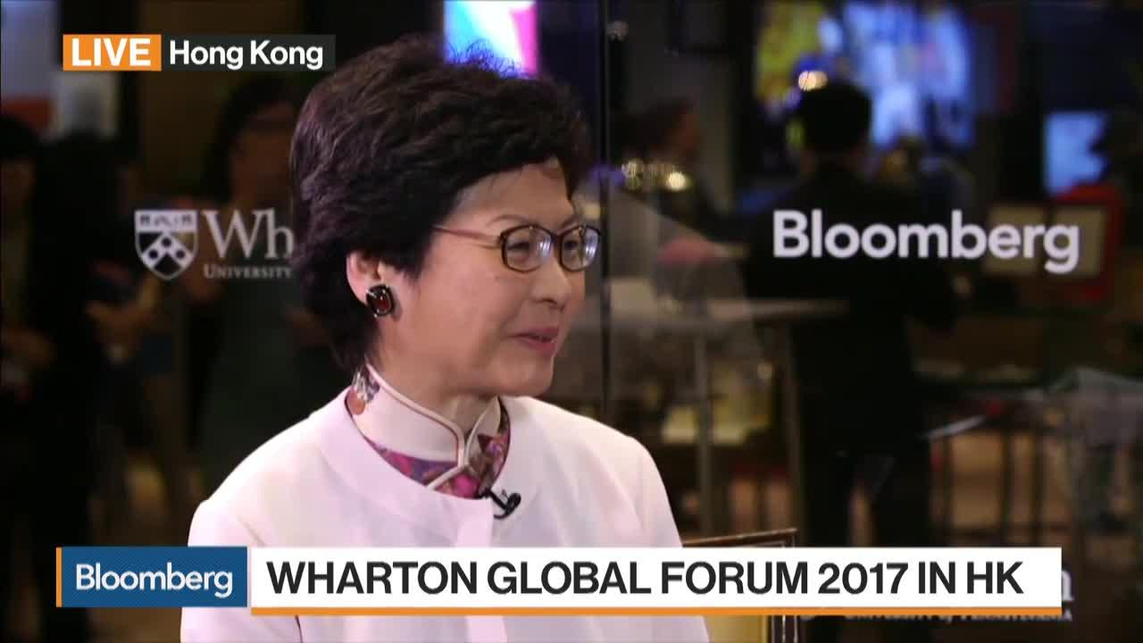 Lam Sees Challenges Ahead as Hong Kong Chief Executive