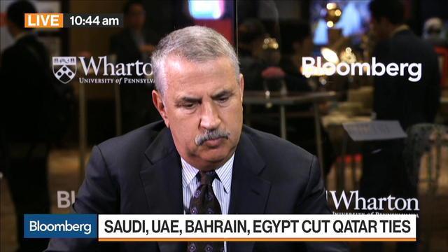 Friedman Says Qatar Real Pioneer in Region, Got Off Track