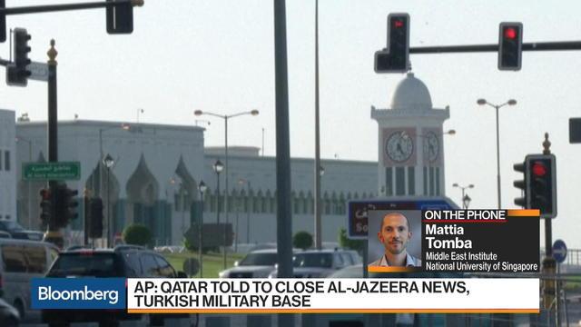 Qatar Gets Demands From Saudi Alliance: AP