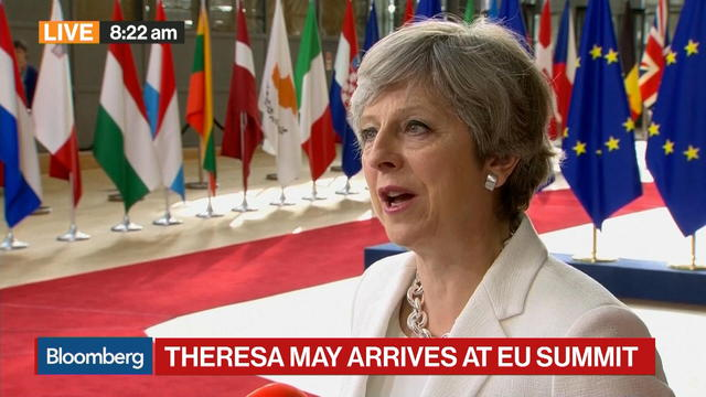U.K.'s May Says Proposal to Give Confidence to Citizens