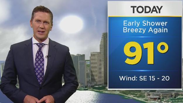 CBSMiami.com Weather 6/23 6AM