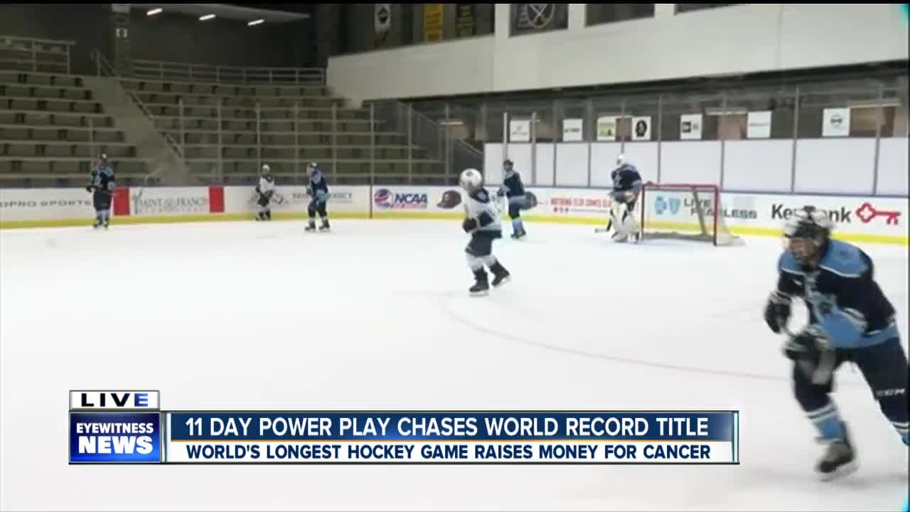 Players hit the ice for the 11-Day Power Play