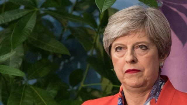 Theresa May Proposes Letting EU Citizens Stay in UK