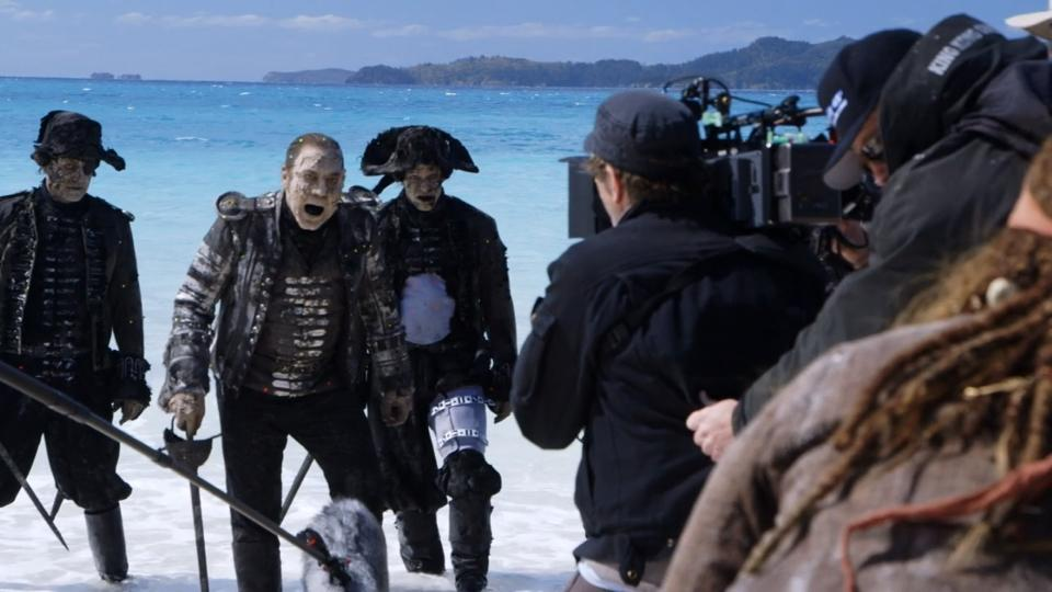 """Visual effects magic of latest """"Pirates"""" movie"""