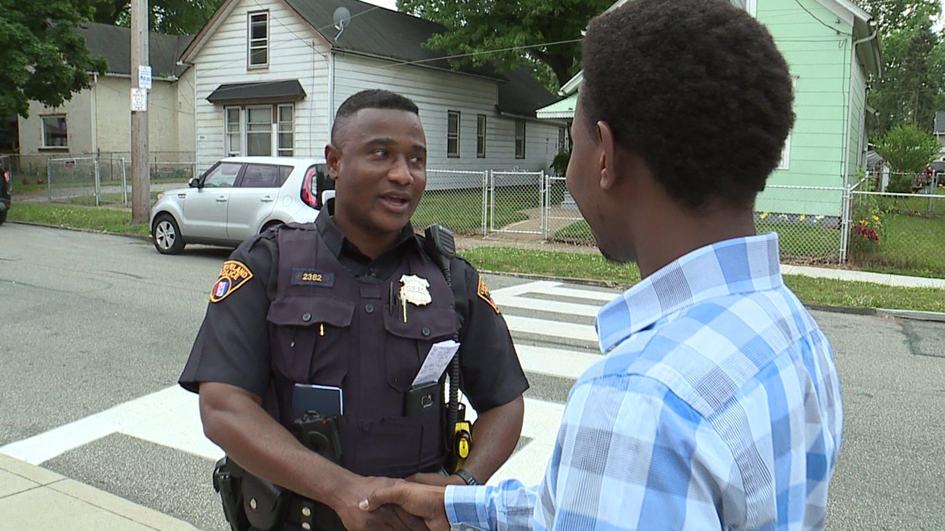 Somali Refugee Becomes Cleveland Police Officer