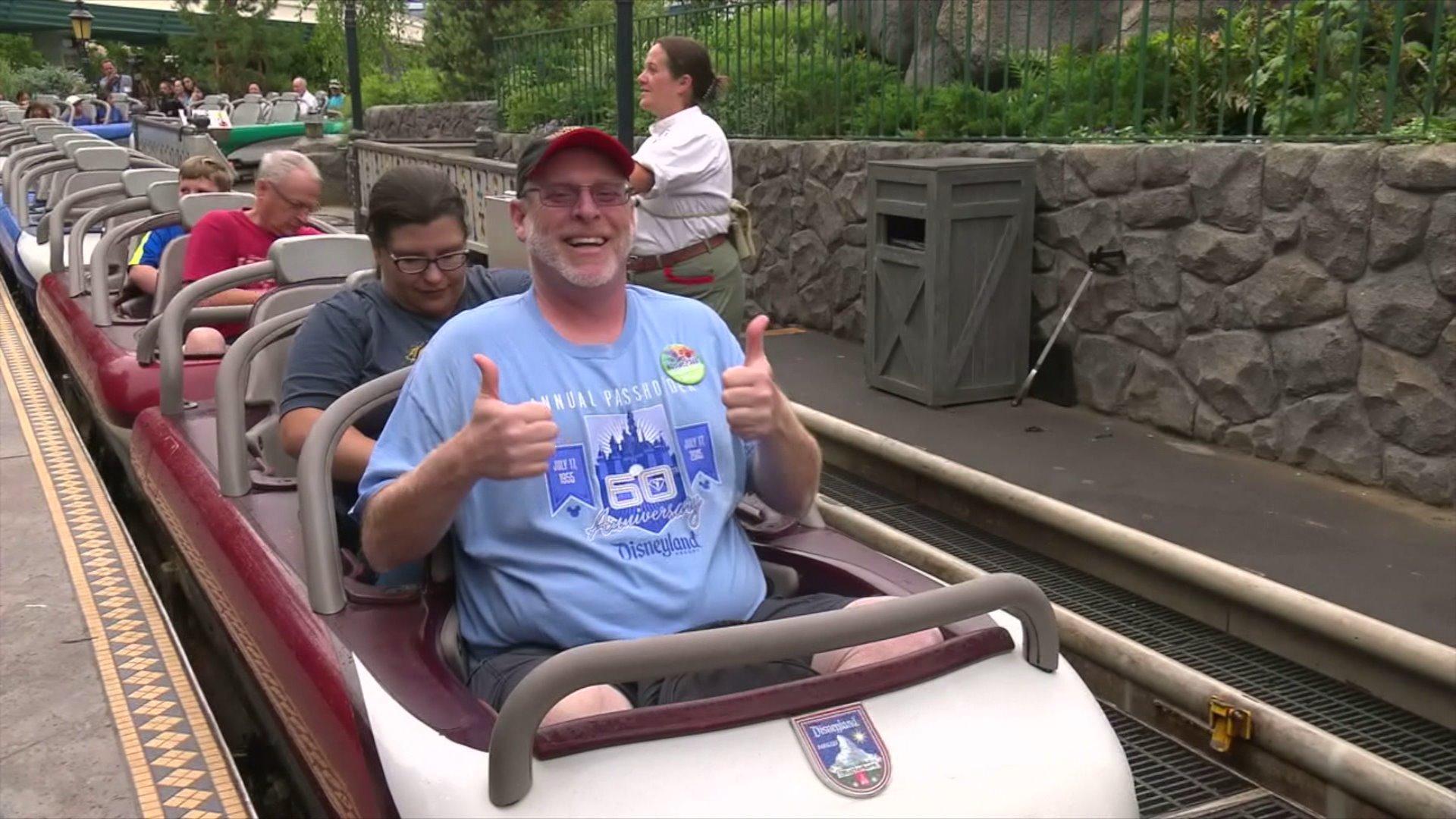 Man Visits Disneyland for 2,000th Consecutive Day