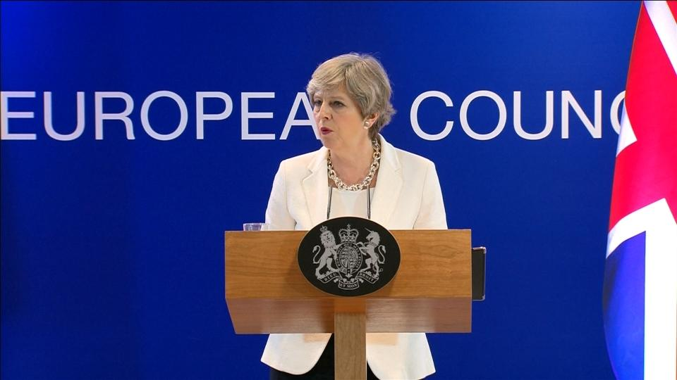 UK offer on EU expats is 'very fair, very serious' - PM May