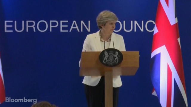 Theresa May Calls Talks on EU Citizens Offer 'Positive'
