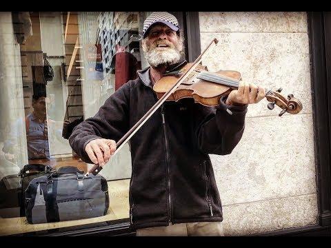 Amazing Violinist Street Performer