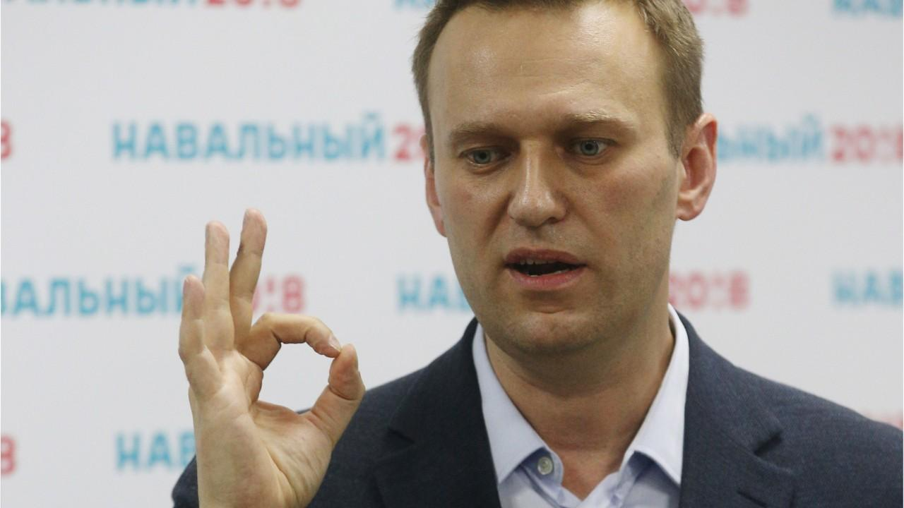 Election Commission Says Navalny Ineligible To Run For Russian Presidency