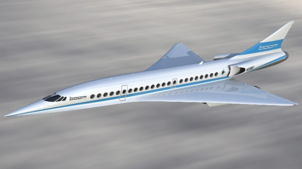 Boom's supersonic prototype prepares for 2018 test flight