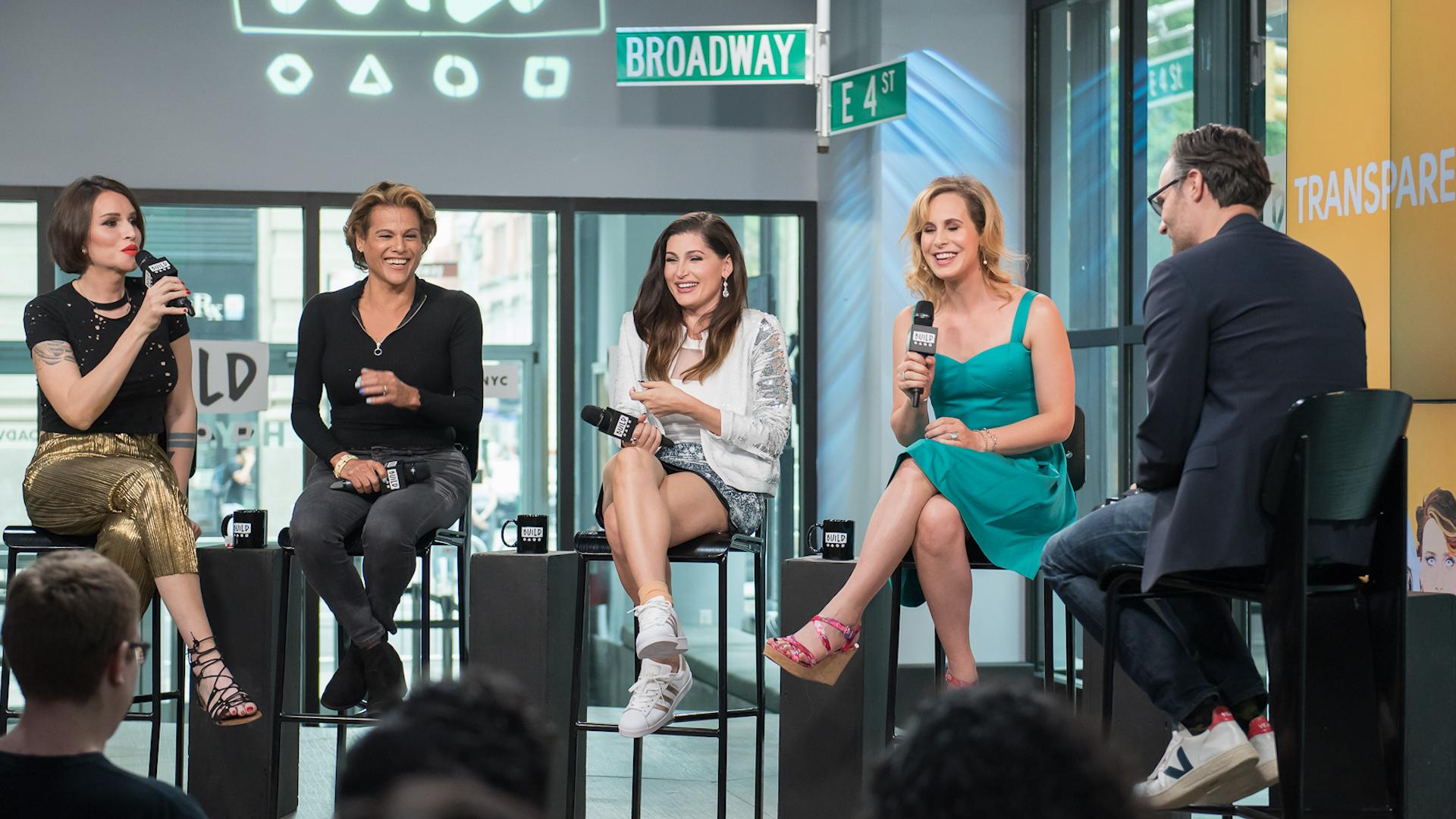 "Trace Lysette, Alexandra Billings, Our Lady J, And Zackary Drucker Of ""Transparent"" Discuss Their Show's Float In The NYC Pride Parade"