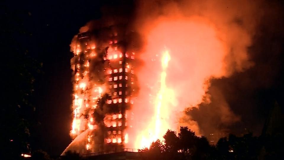 London tower fire began in Hotpoint fridge freezer