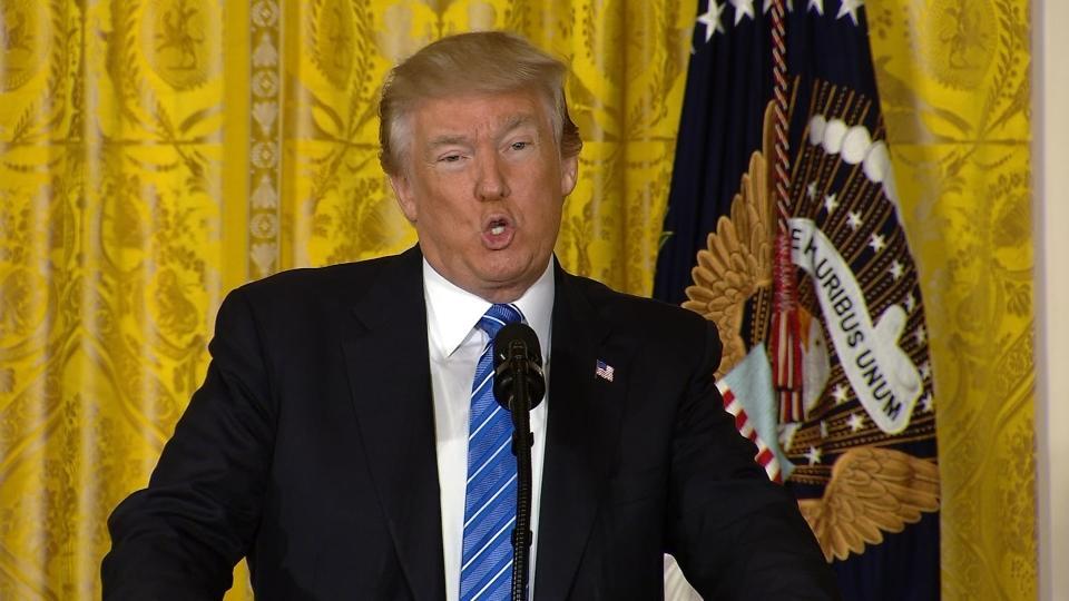 Trump signs VA bill to protect whistleblowers