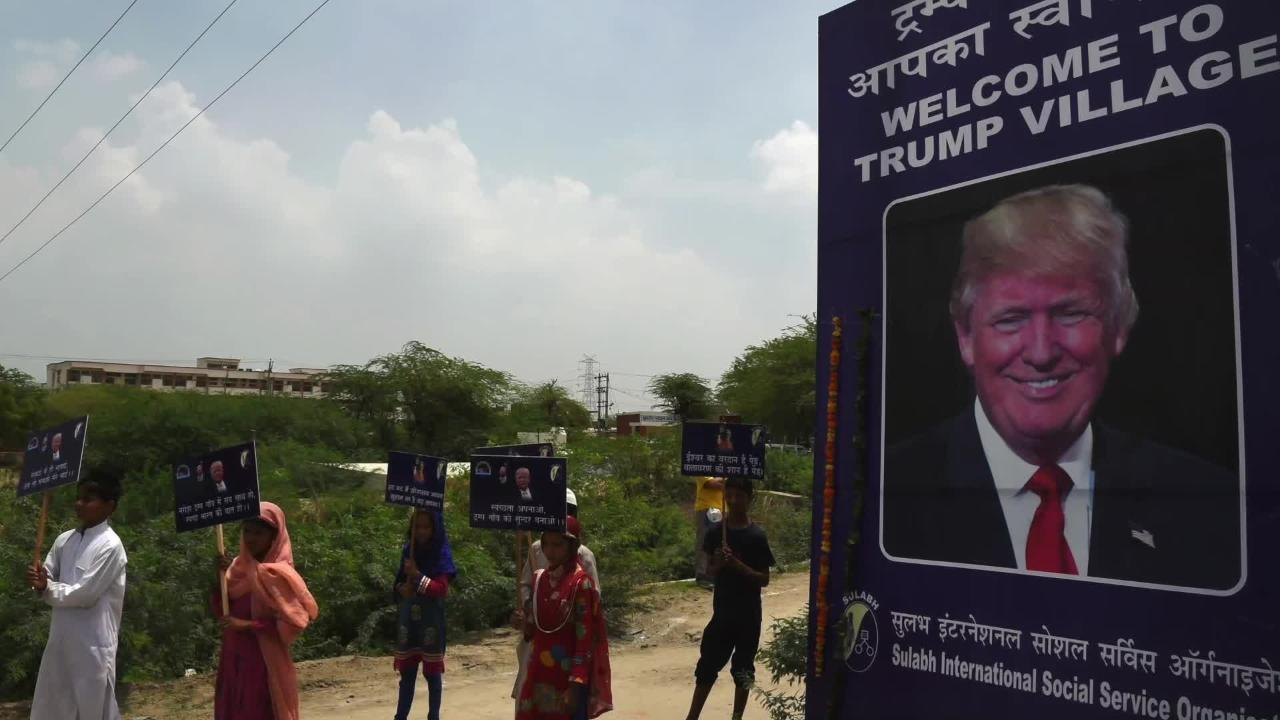 Toilet Charity May Rename Indian Village After President Trump