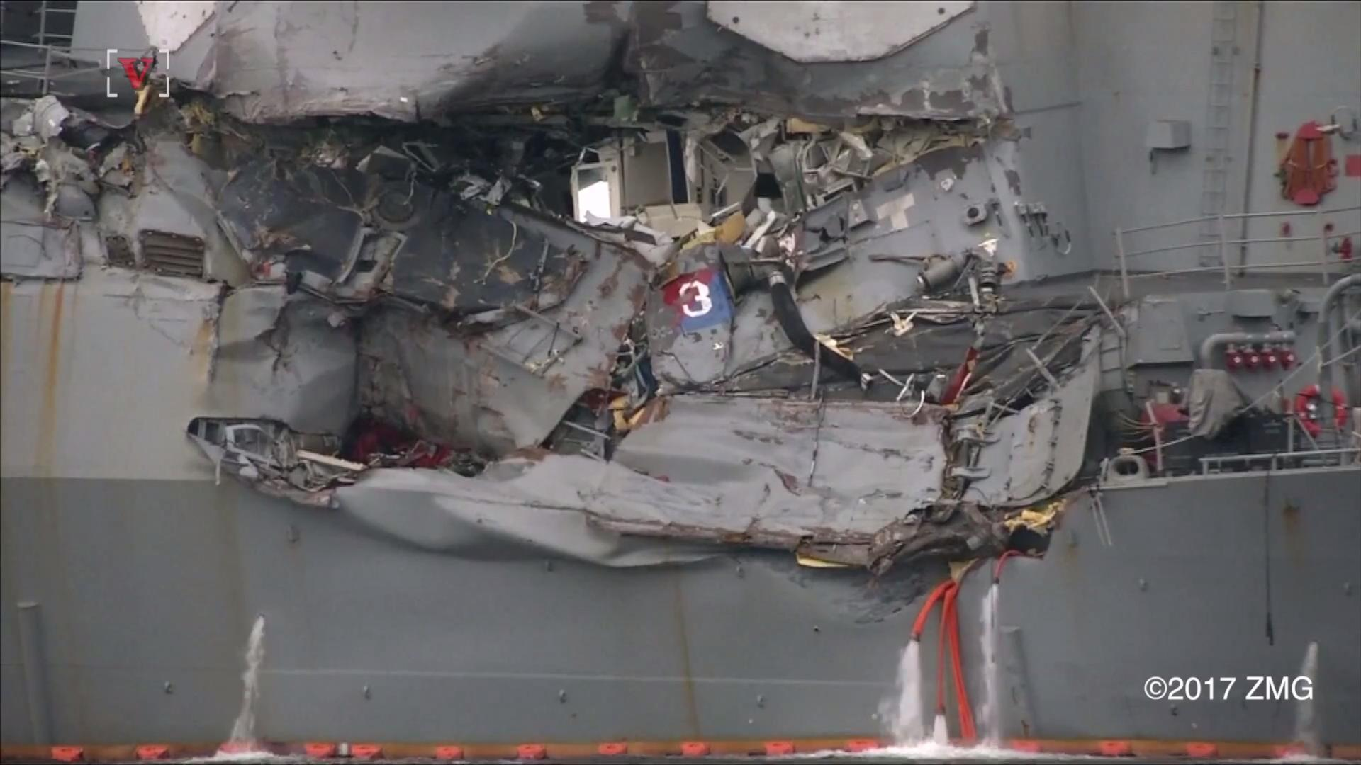 Cargo Ship That Crashed into American Destroyer Reportedly on Autopilot