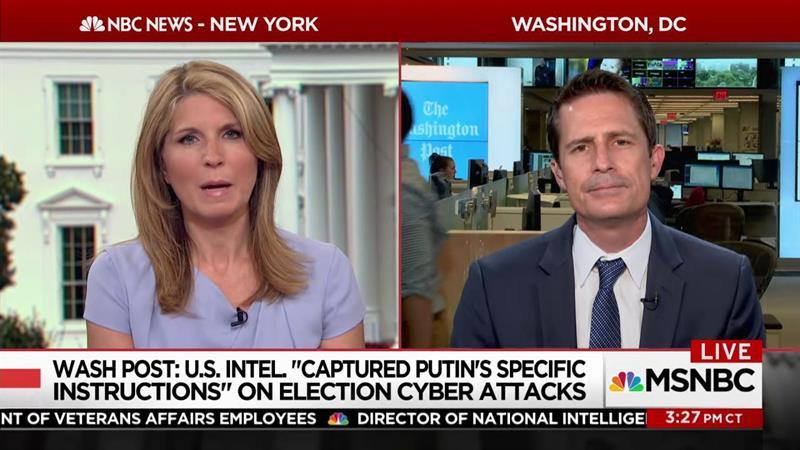 WaPo: US intel 'captured Putin's specific instructions' on 2016 hack