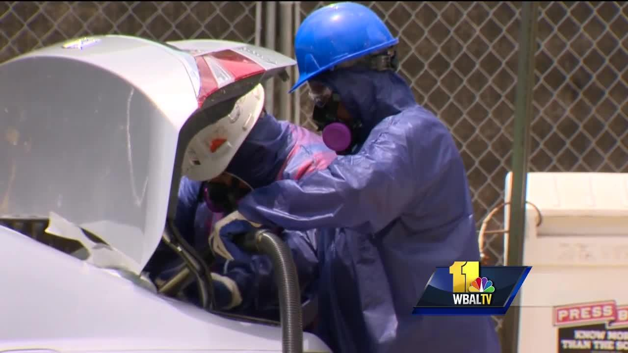 Video: Cleanup crews make progress after steam pipe explosion