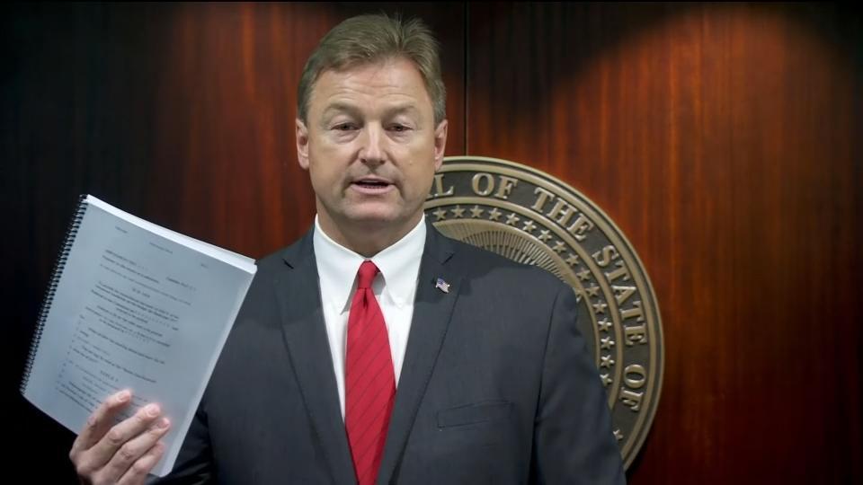 Fifth Republican senator opposes health bill