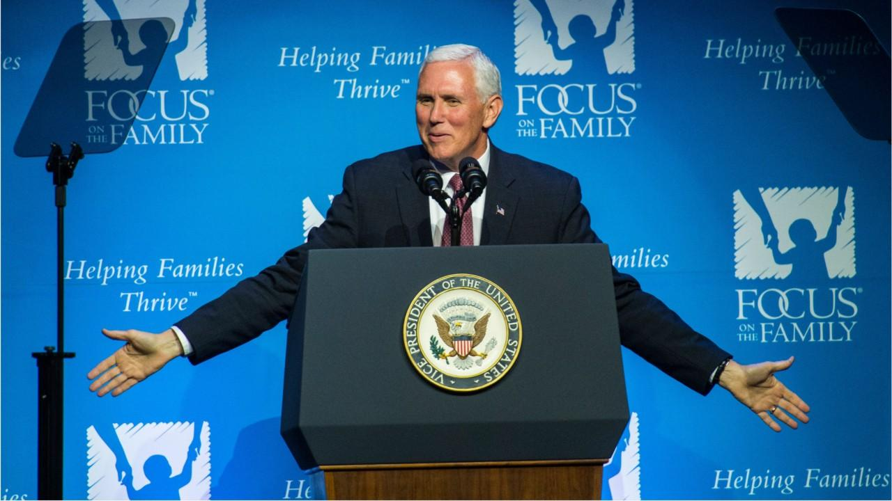 Pence Visits Evangelical Focus on Family Amid Changes in Religious Right