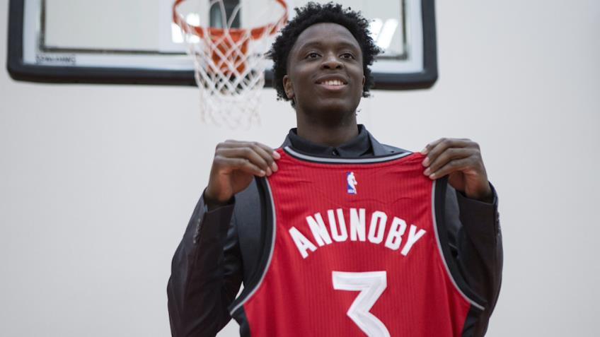 Raptors' draft pick OG Anunoby eager to play with DeRozan