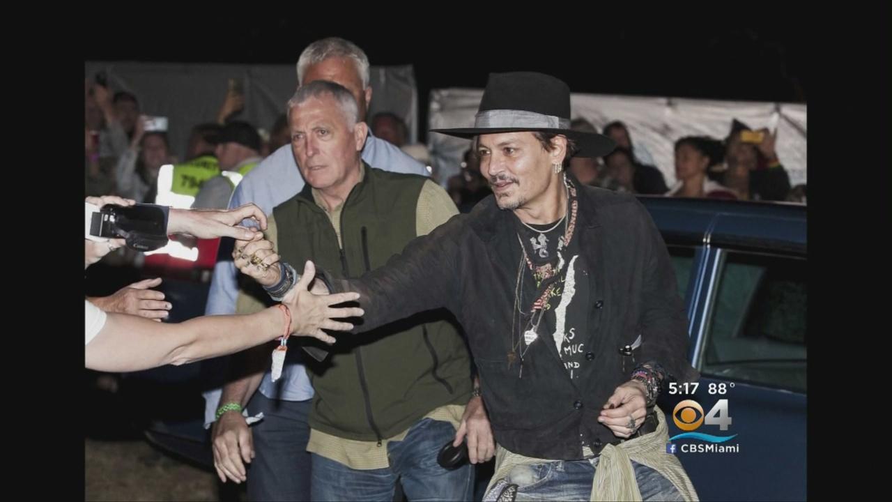 Depp Raises Eyebrows With Assassinating The President Joke