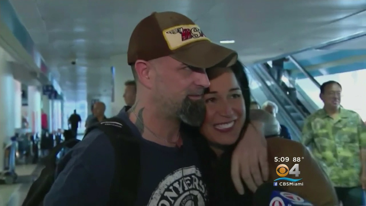 Coconut Grove Man Back In US After 9 Weeks In Arab Prison
