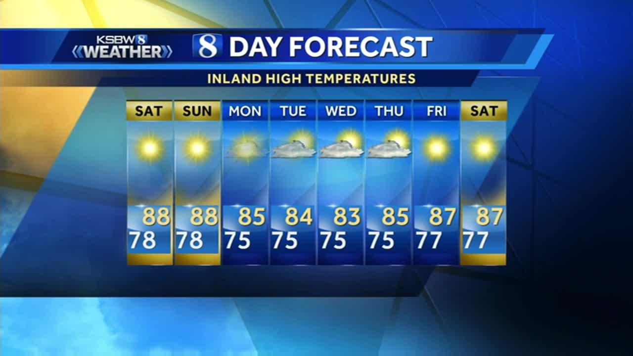 Watch your local evening forecast on KSBW 06.23.17