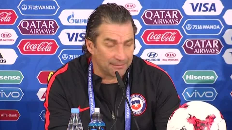 Chile get ready to face Australia in Confederations Cup match
