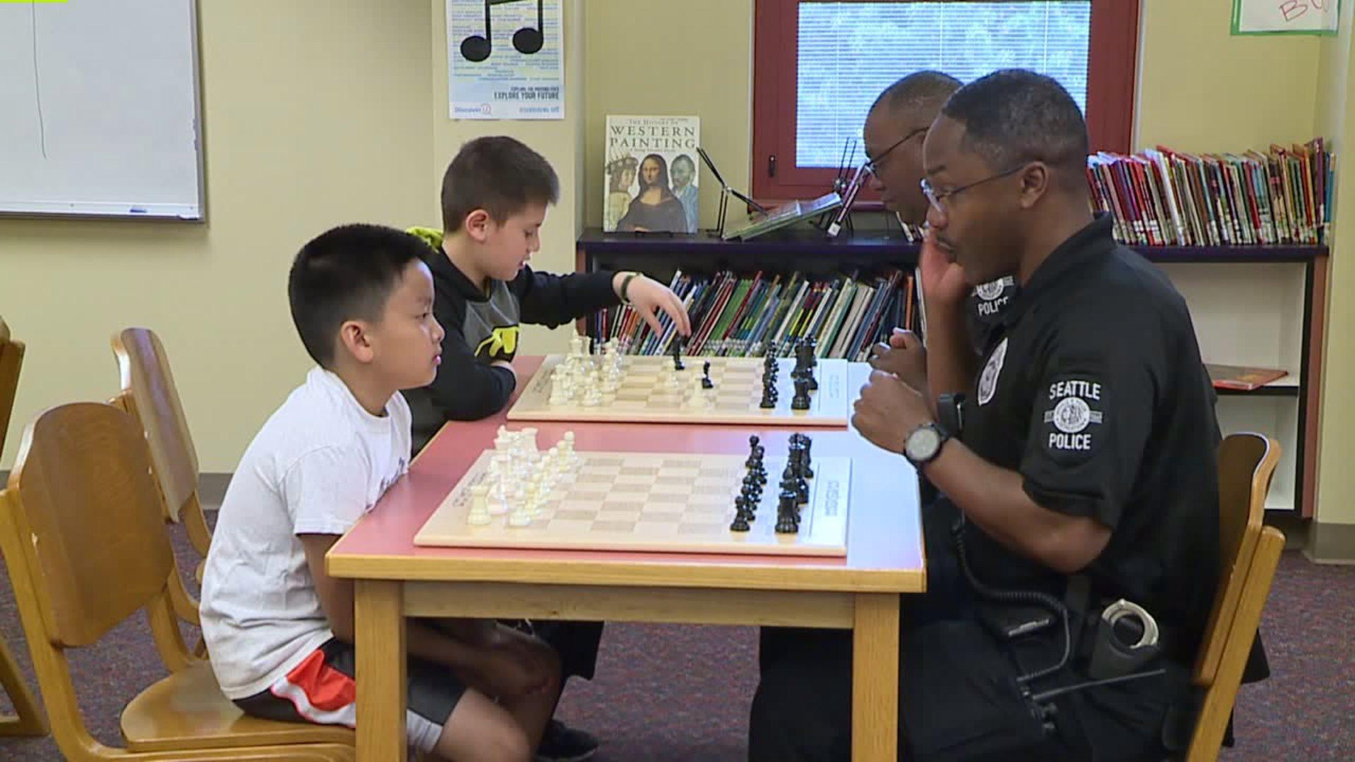 Cops vs. Kids Chess Tournament Held in Seattle