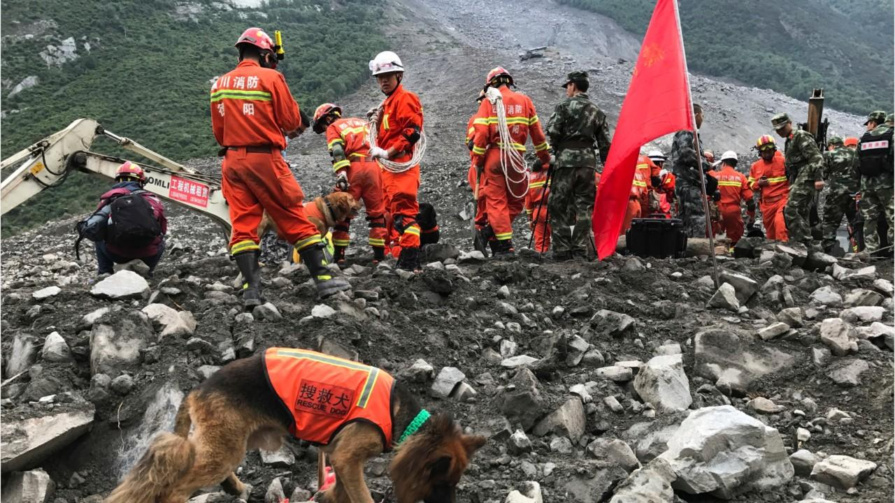 More Than 100 May Be Dead in China Landslide