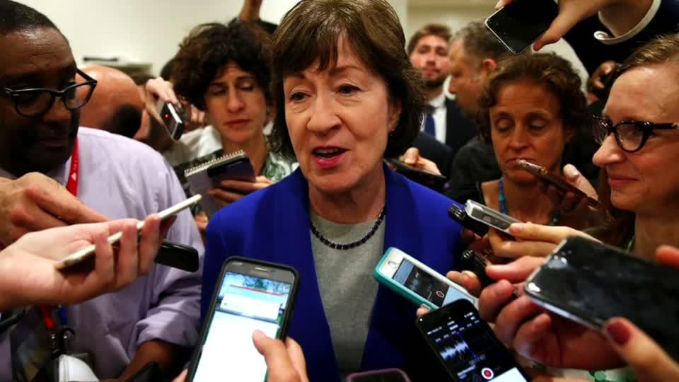 Republican Collins has 'serious concerns' on healthcare bill