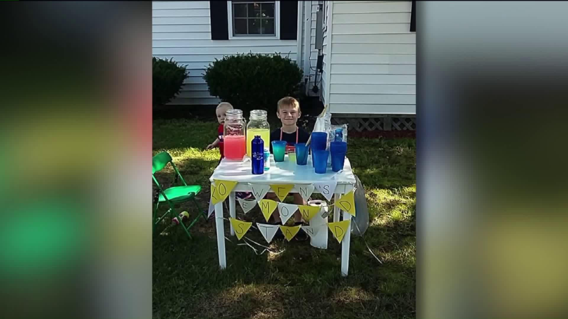 Money Stolen From Eight-Year-Old Boy`s Lemonade Stand