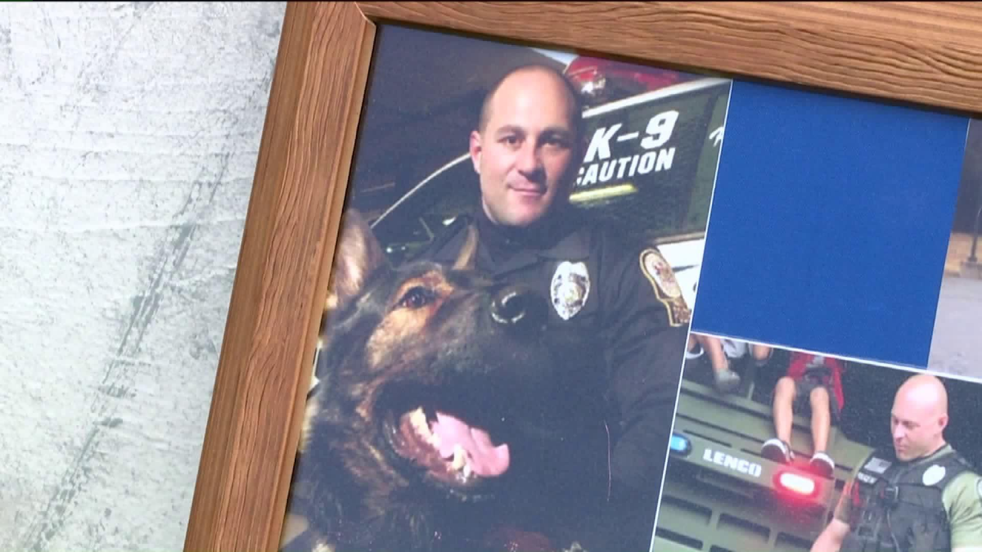 Pennsylvania Community Gathers For Police Dog`s Funeral
