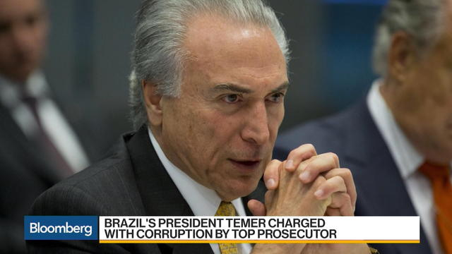 Brazil's Michel Temer Is Charged With Corruption